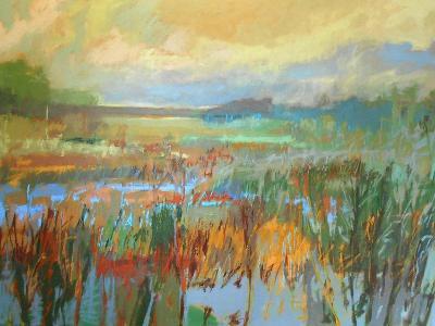 Marsh in May-Jane Schmidt-Art Print