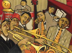 Cacophony in Jazz by Marsha Hammel