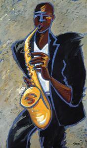 Saxman by Marsha Hammel