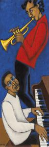 Second Jazz Quintet I by Marsha Hammel