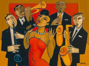 The Diva and her Horn Section by Marsha Hammel
