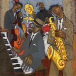 Jazz Club-Marsha Hammel-Giclee Print