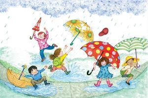 Umbrella Dance - Turtle by Marsha Winborn