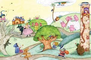 Wacky Fairy Tales - Humpty Dumpty by Marsha Winborn