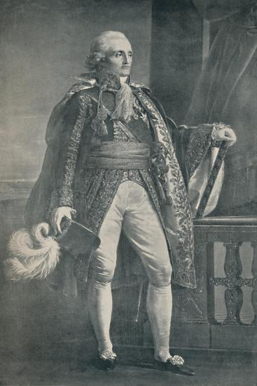 'Marshal Bon-Adrien Jannot De Moncey - Duke of Conegliano', 1806, (1896)-Unknown-Giclee Print
