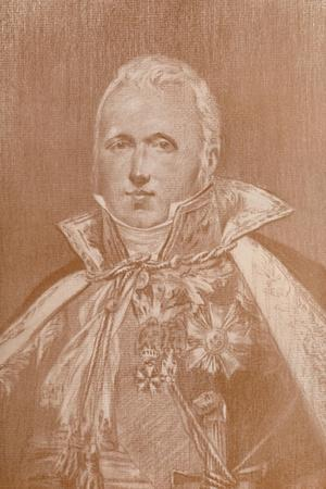 'Marshal Claude-Victor Perrin, Duke of Belluno', 1808, (1896)-Unknown-Framed Giclee Print