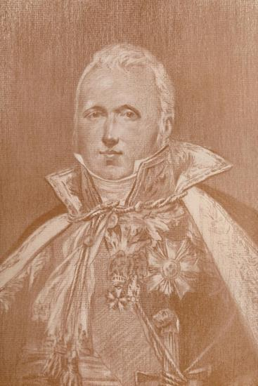 'Marshal Claude-Victor Perrin, Duke of Belluno', 1808, (1896)-Unknown-Giclee Print