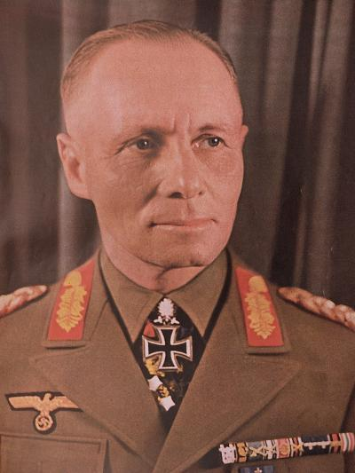 """Marshal Erwin Rommel (1894-1944) from """"Signal"""" Magazine, No. 17, First Edition of September 1942--Giclee Print"""