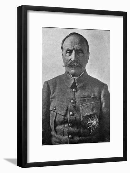 Marshal Ferdinand Foch, French Soldier, C1920- Demay-Framed Giclee Print