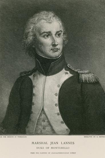 Marshal Jean Lannes--Giclee Print