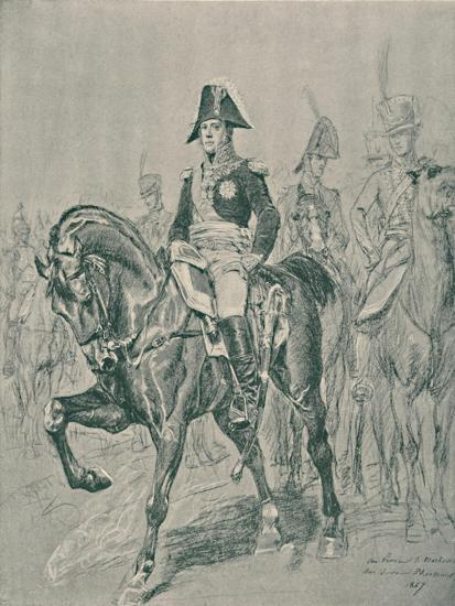 'Marshal Michel Ney - Duke of Elchingen, Prince of the Moskowa', c1800, (1896)-Unknown-Giclee Print