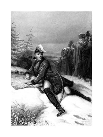 Marshal Ney, French Soldier of the Napoleonic Wars-Paul Girardet-Giclee Print