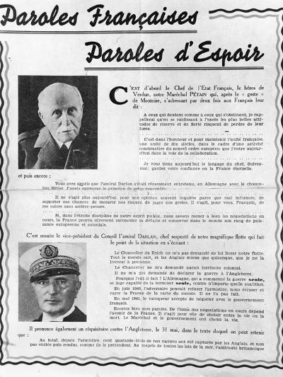 Marshal Petain--Photographic Print