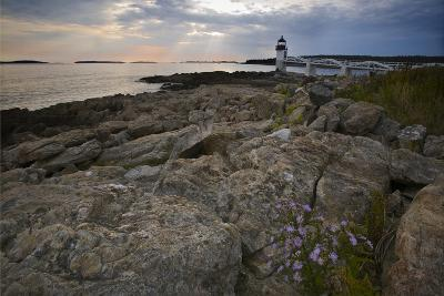 Marshall Point Shoreline, Port Clyde Maine-George Oze-Photographic Print