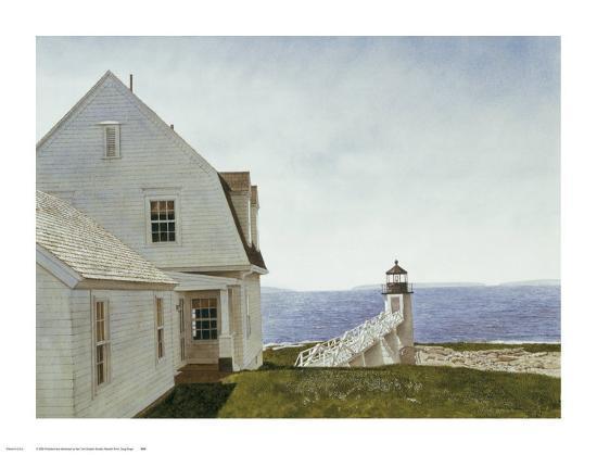 Marshall Point-Douglas Brega-Art Print