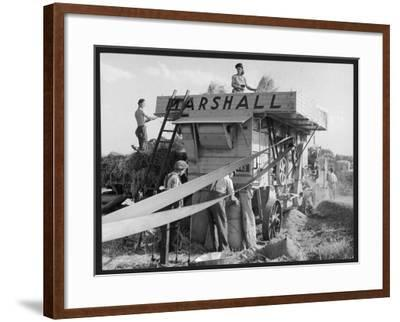 Marshall Thresher--Framed Photographic Print