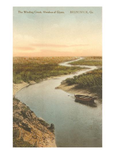 Marshes of Glynn, Brunswick, Georgia--Art Print