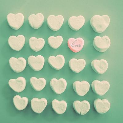 Marshmallow Love-Gail Peck-Premium Giclee Print