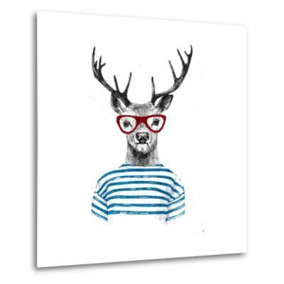 Deer Dressed up in Hipster Style
