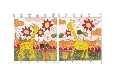 Giraffes II by Marta Arnau