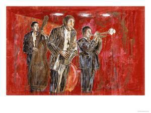 Jazz IV by Marta Gottfried