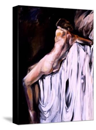 Nude Draped in White