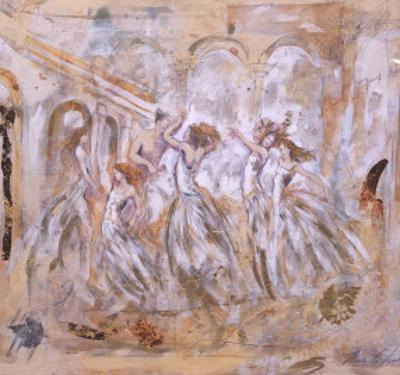 One Man Dancing with Five Women by Marta Gottfried