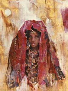 Untitled African Red Wrap by Marta Gottfried
