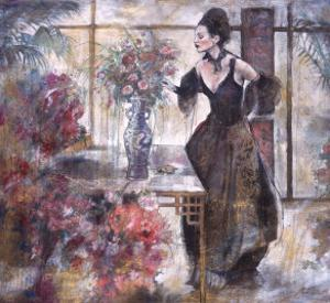 Untitled Woman in Parlor by Marta Gottfried