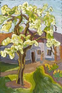 Blooming Pear Tree, 2008 by Marta Martonfi-Benke