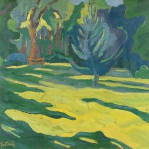 In The Park, 2008 by Marta Martonfi-Benke