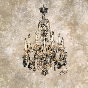 Champagne Chandelier by Marta Wiley