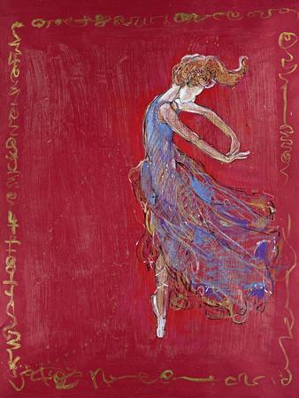 Dancer in Blue IV