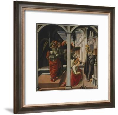 Martelli Annunciation-Filippo Lippi-Framed Giclee Print