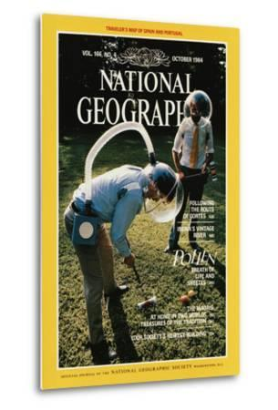 Cover of the October, 1984 National Geographic Magazine