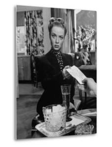 "Actress Audrey Totter in Scene from Film ""Lady in the Lake"" by Martha Holmes"