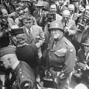 Gen. George Patton's Homecoming at End of WWII by Martha Holmes