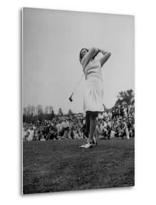 "Golfer Mildred ""Babe"" Didrickson Playing in the Washington Post Golf Tournament by Martha Holmes"