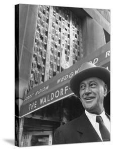 Hotel Magnate Conrad N. Hilton by Martha Holmes