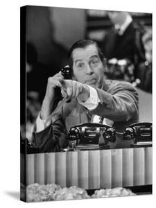 Milton Berle at Fund Raiser for Damon Runyon Memorial Cancer Fund on NBC's Broadcasting Channel by Martha Holmes