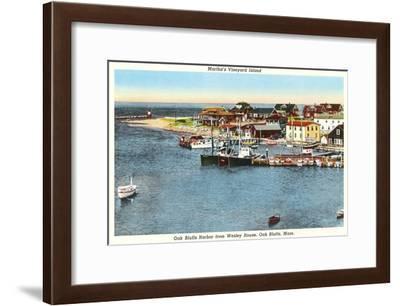 Martha's Vineyard, Massachusetts--Framed Art Print