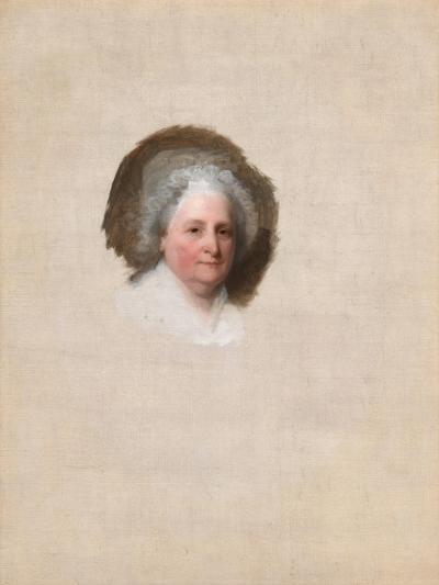 Martha Washington (The Athenaeum Portrait) by Gilbert Stuart--Giclee Print