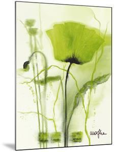 Coquelicot Vert II by Marthe