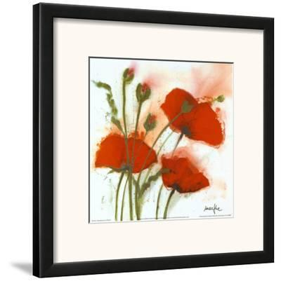 Poppies in the Wind I by Marthe