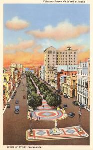 Marti or Prado Promenade, Havana, Cuba