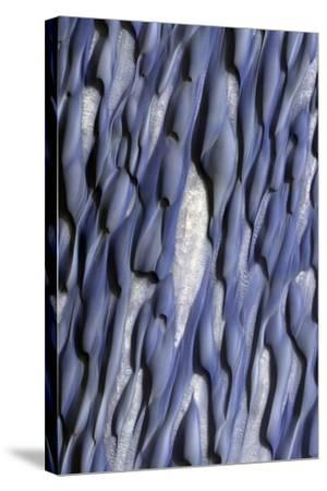 Martian Sand Dunes, Satellite Image
