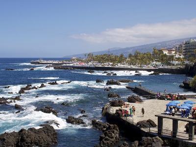 Martianez Lido, Puerto De La Cruz, Tenerife, Canary Islands, Spain, Atlantic, Europe-Jeremy Lightfoot-Photographic Print