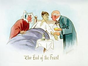 The End of the Feast, C1895 by Martin Anderson