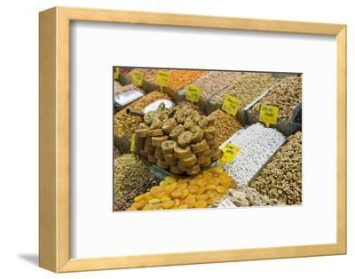 Baklava and Dried Fruit and Nuts for Sale, Spice Bazaar, Istanbul, Turkey, Western Asia