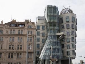 Dancing House, Prague, Czech Republic, Europe by Martin Child